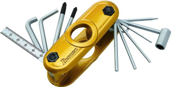Ibanez MTZ11-SY Official Multi-tool for Guitar / Bass - Sunny Yellow